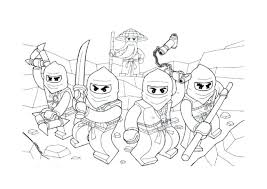 Coloring Pages Of Ninjago Carinsurancezdpro