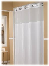 the major 71x77 hookless shower curtain