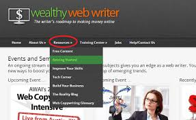 "wealthy web writer review a premium course for online writers if you take a look you ll see how it is broken down into various sections at the time of writing this the ""resources"" link will allow you to access 7"