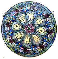baroque glass panel