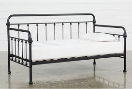 living spaces daybed.  Living Knox Metal Twin Daybed  360 With Living Spaces B