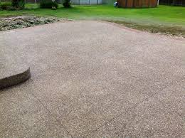 exposed aggregate concrete real help