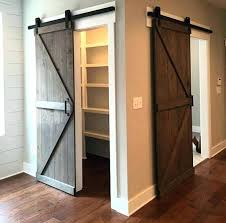 barn doors for closets a simple sliding barn door is a great way to close off barn doors for closets