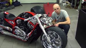 bike motors supercharged harley davidson v rod youtube