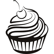 Cupcake Line Drawing Free Download Best Cupcake Line Drawing On