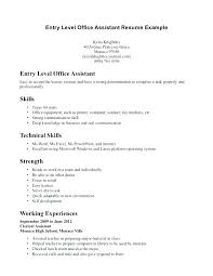 Resume Objective Office Assistant Dental Assistant Resume Examples