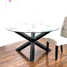 modern glass dining table set small round for room jet black only di