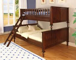 Bunk Bed Hokku Designs Milton Twin Over Full Futon Bunk Bed Reviews Wayfair
