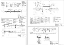 Мосты курсовые работы дипломные проекты Чертежи РУ Курсовой проект Технология строительства моста Автомобильный железобетонный мост через реку Сура