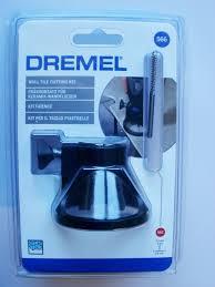 dremel 566 wall tile cutting kit with tile cutting bit 562 dremel 2615056632 692757685717