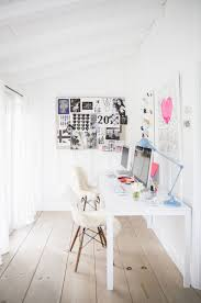 bright office. At Home With Anne Ziegler. White OfficeBright Bright Office