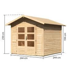 Anderenfalls erstellen wir natürlich auch sonderanfertigungen. Karibu Gartenhauser Versandhandel By Gamoni De Woodfeeling 28 Mm Gartenhaus Talkau 4