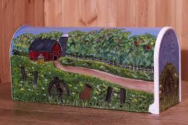 painted mailbox designs. Click To Enlarge Hand Painted Mailbox Designs T