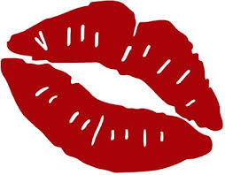 red kiss mark clipart best