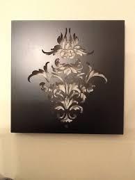 on laser cut wall art nz with fleur de lis laser cut wall art large felt