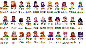 favorite gifts of every character in stardew valley
