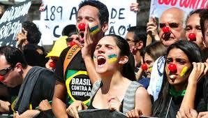 Resultado de imagem para manifestação popular brasileira