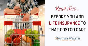 costco life insurance facebook