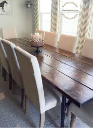 rustic farmhouse kitchen table and chairs
