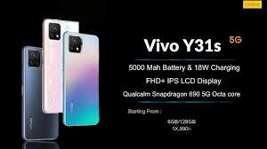 Vivo Y31s 5G Full Specification, Price ...