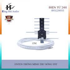 🔊🔊🔊Anten thông minh thu sóng DVB T2 + 15m dây cáp🔊🔊🔊 - Cáp Tivi