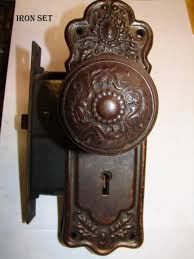 vintage door knob images | Spindles & Set Screws || Door Knob Back ...