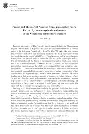 proclus and theodore of asine on female philosopher rulers  document is being loaded