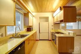 mid century modern galley kitchen. Retro-galley-kitchen Mid Century Modern Galley Kitchen I