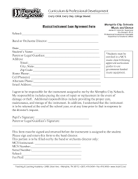 Loannt Contract Form Document Sample Money Free Repayment Agreement ...