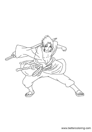 Naruto Coloring Pages Pdf Printable Free For Adults To Print Color