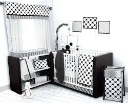 black and white crib bedding set dots pin stripes including per pad toddler uk wh black and white toddler bedding