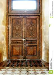 old wooden door stock image image of beautiful inside 6125653