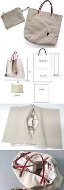 sew a tote bag with leather handles photo tutorial lined canvas tote