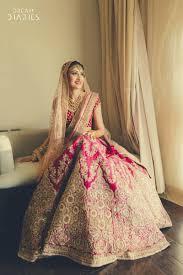 Light Pink Indian Wedding Dress Beautiful Pink And Gold Bridal Lehenga With Light Peach