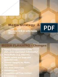 Media Strategy & Planning: Chapters 14 & 15 with Duane Weaver | Target  Audience | News Media