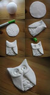 My Owl Barn: DIY: Clay Owl  I want to make these right now @ DIY Home  Crafts, paint them and add a wire picture hanger on the back.