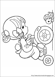 Small Picture Precious Moments Coloring Pages free For Kids