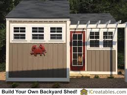 Small Picture 9 best 10x20 Shed Plans images on Pinterest Shed plans Building