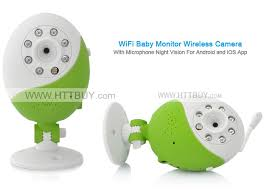 WiFi Baby Monitor Wireless Camera With Microphone Night Vision For ...
