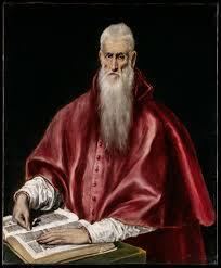 saint jerome as scholar artist el greco