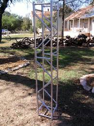 diy lighting truss. Fake Aluminum Trusses Made From PVC Pipe Diy Lighting Truss H