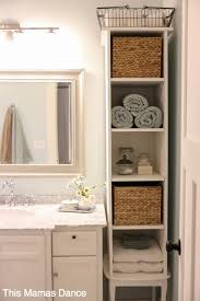 Best Bathroom Storage Diy Ideas On Pinterest Diy Bathroom