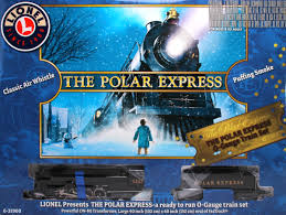Lionel O 6-31960 The Polar Express Passenger Train Set (2-8-
