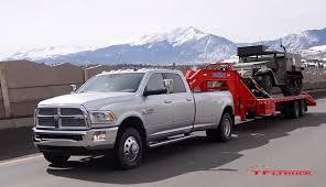 2018 dodge tow truck. wonderful dodge 2015 ram 3500 hd diesel pickup truck towing a gooseneck trailer with world  war ii halftrack to 2018 dodge tow