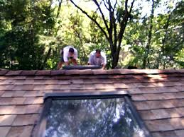 install a skylight in good weather