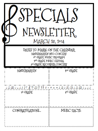 Music Newsletter Templates A Blog Post With A Free Editable Music Newsletter Template The