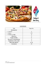 Final Project Of Dominos Pizza