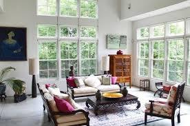 Modern interior decorating in Asian style, oriental interior design trends