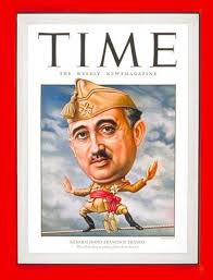 Francisco Franco on the front page of Time