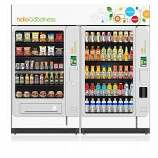 Healthiest Vending Machine Snack Cool PepsiCo Revamps Vending Machines To Attract Healthier Eaters CMO